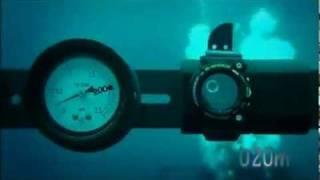 getlinkyoutube.com-G Shock Test - Water Pressure Resistance