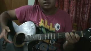 getlinkyoutube.com-se je bosay asay on guitar (plucking+chords) by (R@ZZEL)