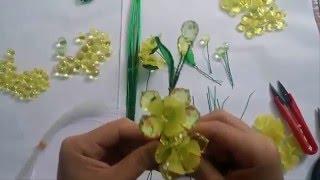 getlinkyoutube.com-Hướng dẫn làm hoa mai Pha lê nhanh chỉ 10 phút