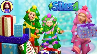 Sneaking a Present? Sims 4 Let's Play The Darlingtons - Sophie Henry & the Triplets Christmas