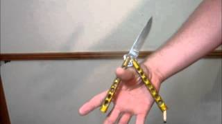 getlinkyoutube.com-Butterfly Knife Tricks (Zen Rollover)