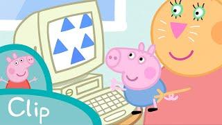 getlinkyoutube.com-Peppa Pig - Daddy Pig's office (clip)