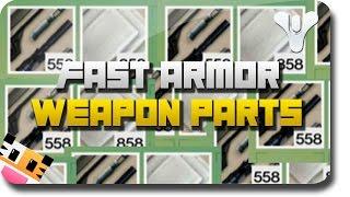 """getlinkyoutube.com-Destiny - How To Get Fast """"Armor Parts"""" & Fast """"Weapon Parts"""" (Destiny Material Farm)"""