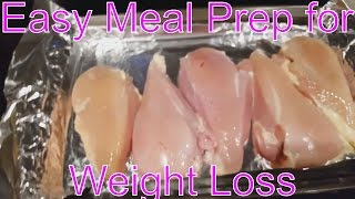 getlinkyoutube.com-Easiest Meal Prep for Weight Loss