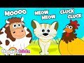 Animal Sounds For Children | Animal Songs & Rhymes