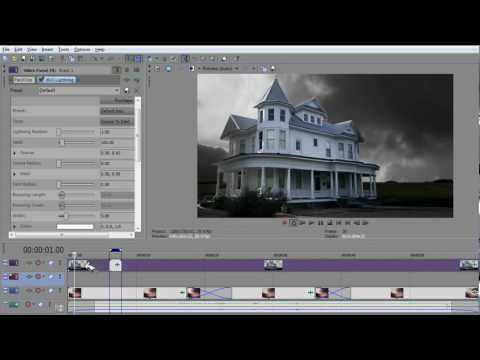 How To Make Realistic Lightning With Sony Vegas Pro 10 Tutorial For Motion Pictures