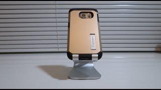 getlinkyoutube.com-فتح علبة كفر للجلاكسي اس ٦ ايدج Spigen Tough Armor Case for Galaxy S6 Edge