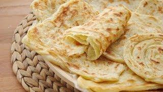 getlinkyoutube.com-Recette de msemen : Crêpes feuilletées   /  Moroccan pancakes