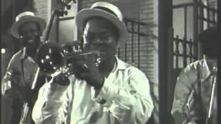 getlinkyoutube.com-Sidney Bechet + Louis Armstrong + Django Reinhardt 1952, La Route Du Bonheur (excerpt)