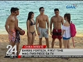24 Oras: Cast ng Meant To Be, sizzling hot sa taping sa beach resort