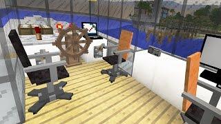 getlinkyoutube.com-Капитанский мостик в яхте - Серия 5.3 - Строительный креатив 2