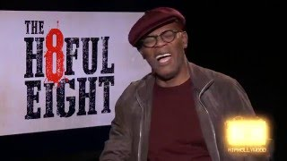 getlinkyoutube.com-Samuel L Jackson Defends Quentin Tarrentino's use of the N word inThe Hateful Eight