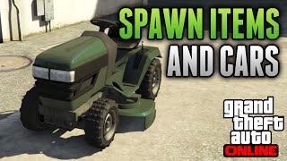 "getlinkyoutube.com-GTA 5 Glitches - Spawn Items & Cars Online, Teleport Glitch & God Mode! ""GTA 5 Online Glitches"""