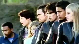 getlinkyoutube.com-Power Rangers - Morfar - Dino trovão e Tempestade ninja.