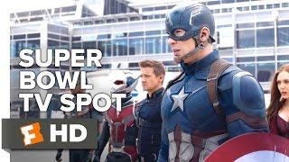 getlinkyoutube.com-Captain America: Civil War Official Super Bowl TV Spot (2016) - Chris Evans Movie HD