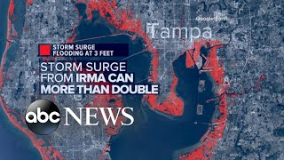 Tampa-St. Petersburg area is at risk for dangerous storm surge flooding