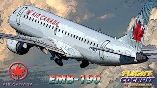 getlinkyoutube.com-AIR CANADA Embraer 190 (Bahamas & Cuba)