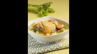 getlinkyoutube.com-Caldo de pollo - Chicken Soup