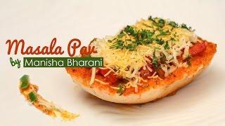 getlinkyoutube.com-Masala Pav Mumbai Street Food  - Quick & Easy Chessy Masala Pav - Fast Food Masala Pav Recipe