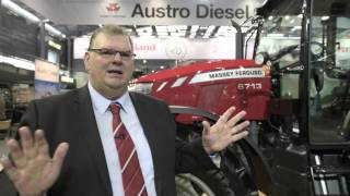 TechAgro 2016 - European Premiere of Massey Ferguson 6700 Global Tractors