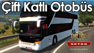 Euro Truck Simulator 2 - SETRA S 431DT Çift Katlı Otobüs Modu