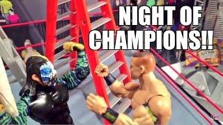 getlinkyoutube.com-GTS WRESTLING: Night of Champions PPV Parody! WWE Mattel Figure Matches Animation