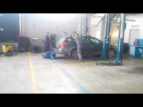 Subaru диагностика ходовки