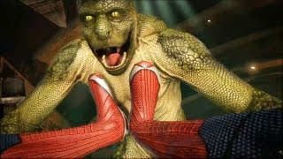 getlinkyoutube.com-The Amazing Spider-Man Vs Lizard (o Lagarto)