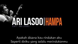 Ari Lasso - Hampa ( Lirik )