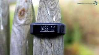 getlinkyoutube.com-Garmin vivosmart HR Test