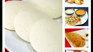 getlinkyoutube.com-All in One Batter - How to Prepare Idli/ Dosa Batter Recipe| South Indian Breakfast