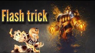 getlinkyoutube.com-Xerath flash trick montage