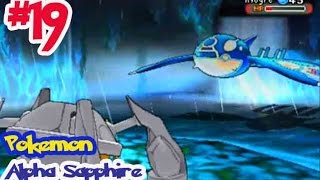 getlinkyoutube.com-Pokémon Alpha Sapphire - Ep19 จับ ไคโอก้า โปเกม่อนในตำนาน