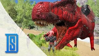 getlinkyoutube.com-Ark Survival Evolved - Quick Clips- Lvl 19 Alpha Trex/New Dodo Gladiator