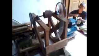 getlinkyoutube.com-Gravity Power Engine Over Voltage 2550 rpm Tahap 1