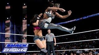 getlinkyoutube.com-The Funkadactyls vs. AJ Lee in a 2-on-1 Handicap Match: SmackDown, Nov. 22, 2013