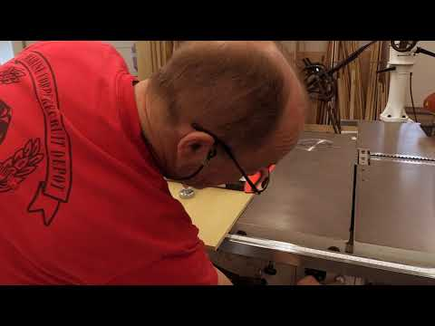 Video: Setting up the sliding table Youtube Thumbnail