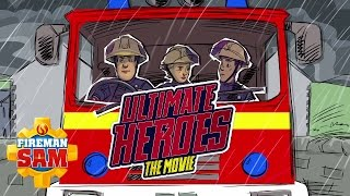 getlinkyoutube.com-Fireman Sam US Official: Ultimate Heroes - The Movie Opening Song
