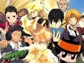 Katekyo hitman reborn ! all openings  1,2,3,4,5,6,7,8