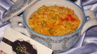 getlinkyoutube.com-شهيوات ريحانة كمال سلطة أرز دافئة و لذيذة ، وجبة عشاء لذيذة جدا