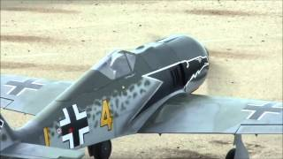 Topflite FW190 First Flight