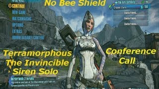 getlinkyoutube.com-Borderlands 2: Terramorphous The Invincible: Siren Solo-No Bee Shield