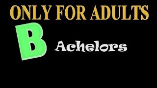 BACHELORS | ONLY FOR ADULTS | DOUBLE MEANING COMEDY| KANNADA