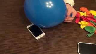 getlinkyoutube.com-Handyhülle selber machen und gestalten aus einem Luftballon