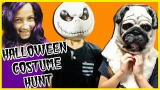 getlinkyoutube.com-HALLOWEEN COSTUME HUNT! COSTUME TRY ON HUNT AT SPIRIT HALLOWEEN! DISNEY DESCENDANTS BY PLP TV