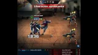 getlinkyoutube.com-Estrategia para la Batalla Héroica de Caballero Negro de forma facil