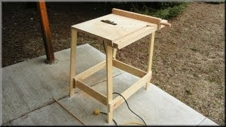 getlinkyoutube.com-Utility Table Saw