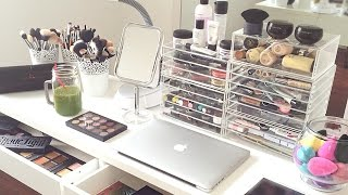 getlinkyoutube.com-My Makeup Collection and Storage 2015 | AlexandrasGirlyTalk