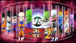 getlinkyoutube.com-Dragon Ball Z Raging Blast 2 - Z Fighters Vs. Ginyu Force (Live Commentary)