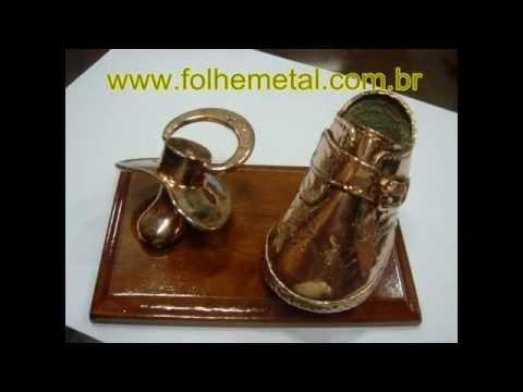 Metalização de Sapatinhos e outros objetos
